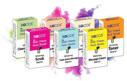 Biocos Facial Boosters Kit Buy online in Pakistan on Saloni.pk