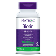 Natrol Biotin Tablet 10000 MCG 60 Tablets lowest price in pakistan