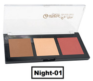 Amelia Blusher & Highlighter Trio - Night-01 Buy online in Pakistan on Saloni.pk