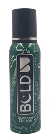 Bold Pakistan Edition Perfumed Body Spray - 120ml  Buy online in Pakistan on Saloni.pk