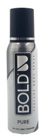 Bold ( Pure ) Perfumed Body Spray - 120ml Buy online in Pakistan on Saloni.pk
