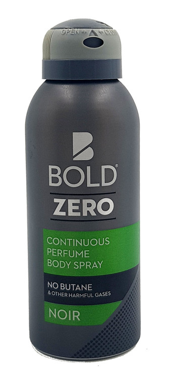 Bold Zero ( Noir ) Continuous Perfume Body Spray- 120ml Buy online in Pakistan on Saloni.pk