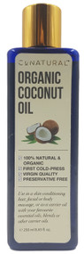 CoNatural Organic Coconut Oil 250ml Buy online in Pakistan on Saloni.pk