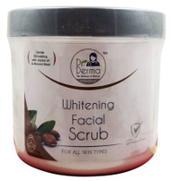Dr. Derma Whitening Facial Scrub 550g  Buy online in Pakistan on Saloni.pk
