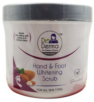 Dr. Derma Whitening Hand & Foot Scrub 550g Buy online in Pakistan on Saloni.pk
