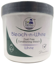 Dr. Derma Bleach-n-White Dust Free Conditioning Bleach 500g Buy online in Pakistan on Saloni.pk