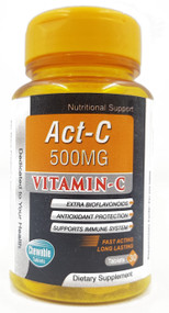 Nutrex Health Care Act-C 500mg Vitamin C - 30 Chewable Tablets Buy online in Pakistan on Saloni.pk