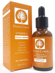 Pretty Cowry Vitamin C Facial Serum 30ml Buy online in Pakistan on Saloni.pk