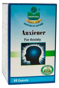 Marhaba Anxiener 60 Capsules Buy online in Pakistan on Saloni.pk