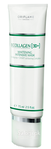 Oriflame Ecollagen [3D+] Whitening Intensive Mask