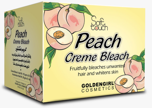 Soft Touch Peach Bleach Creme Trial Pack 24g Buy online in Pakistan on Saloni.pk
