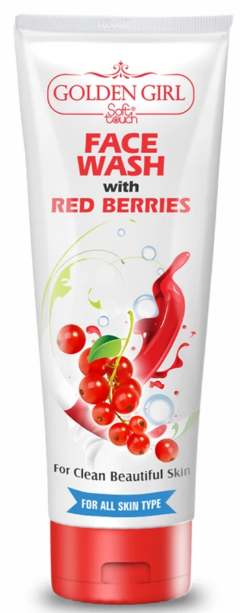 Soft Touch Face Wash with Red Berries 120ml Buy online in Pakistan on Saloni.pk