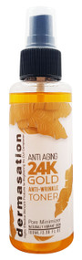 Dermasation 24K Gold Anti Wrinkle Toner 100ml (Pore Minimizer) buy online in pakistan