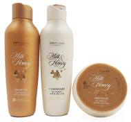 Oriflame Milk & Honey Gold Hair Treatment Kit  buy online in pakistan