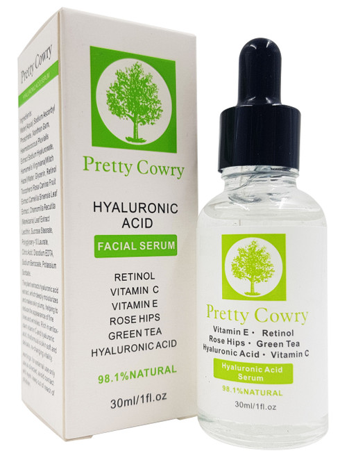 Pretty Cowry Hyaluronic Acid Facial Serum 30ml buy online in pakistan