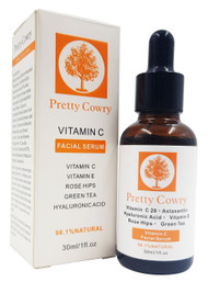 Pretty Cowry Vitamin C Facial Serum 30ml (White) buy online in pakistan