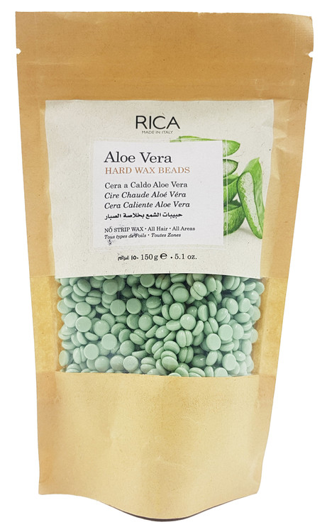 Rica Aloe Vera Hard Wax Beads 150g buy online in pakistan