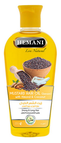 Hemani Mustard Hair Oil 200ml Buy online in Pakistan on Saloni.pk