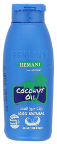 Hemani Coconut Hair Oil 100% Natural 50ml Buy online in Pakistan on Saloni.pk