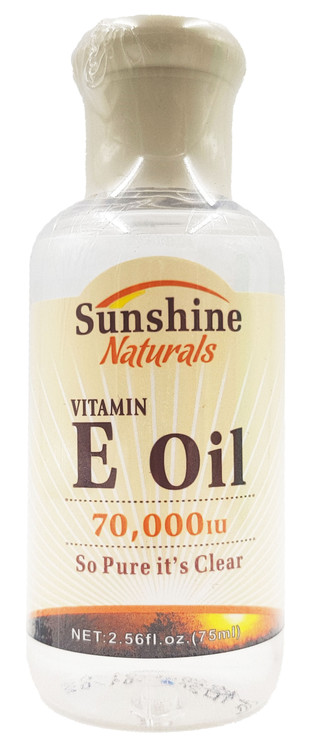 Sunshine Vitamin E 70,000IU 75ml buy online in pakistan