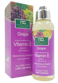 Pretty Cowry Grape Vitamin E Skin OIl 100ml buy online in pakistan
