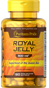Puritan's Pride Royal Jelly 500mg 120 Softgels Buy online in Pakistan on Saloni.pk