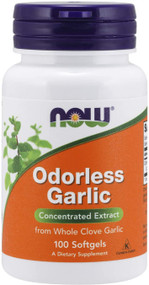 Now Foods Odorless Garlic - 100 Softgels Buy online in Pakistan on Saloni.pk