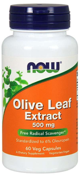 Now Foods Olive Leaf Extract 500mg - 60 Capsules Buy online in Pakistan on Saloni.pk