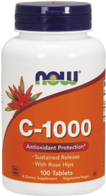 Now Foods Vitamin C-1000 With Rose Hips - 100 Tablets Buy online in Pakistan on Saloni.pk