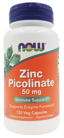 Now Foods Zinc Picolinate, 50mg- 120 Capsules Buy online in Pakistan on Saloni.pk