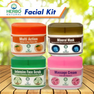 Herbo Natural Whitening Facial Kit - 4 Step Buy online in Pakistan on Saloni.pk
