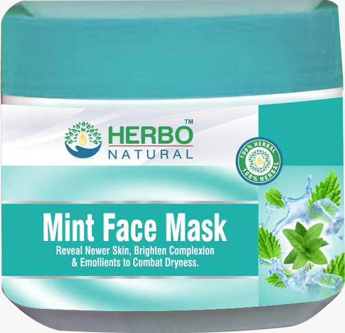 Herbo Natural Mint Face Mask Buy online in Pakistan on Saloni.pk