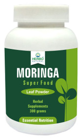 Herbo Natural Moringa Leaf Powder 300g Buy online in Pakistan on Saloni.pk