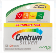 Centrum Silver Adults 50+ Multivitamin Multimineral Supplements - 155 Tablets Buy online in Pakistan on Saloni.pk