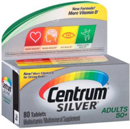 Centrum Silver Adults 50+ Multivitamin Supplement 80 Tablets buy online in pakistan