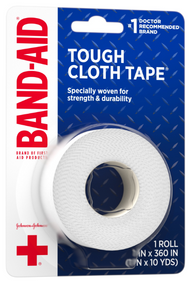 Band Aid Brand of First Aid Products Tough Cloth Tape - 1 Count