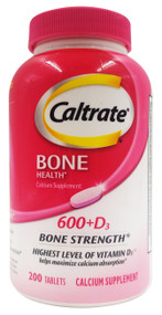 Caltrate Bone Health Calcium Supplement 600+D3 - 200 Tablets Buy online in Pakistan on Saloni.pk