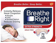 Breathe Right Extra Strength Nasal ( Tan ) Strips - 72 Strips Buy online in Pakistan on Saloni.pk