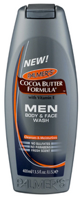 Palmer's Cocoa Butter Formula Men Body & Face Wash 400ml Buy online in Pakistan on Saloni.pk