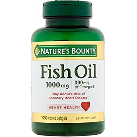 Nature's Bounty Fish Oil 1000mg - 120 Softgels buy online in pakistan
