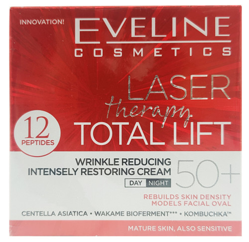 Eveline Laser Therapy Total Lift Day and Night Cream 50+ - 50ml Buy online in Pakistan on Saloni.pk