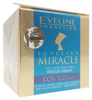 Eveline Egyptian Miracle Face Body and Hair Rescue Cream- 40ml Buy online in Pakistan on Saloni.pk