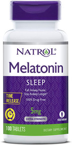 Natrol Melatonin 5mg Fall Asleep Faster 100 Tablets buy online in pakistan