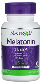 Natrol Melatonin 5mg Fall Asleep Faster 60 Tablets buy online in pakistan