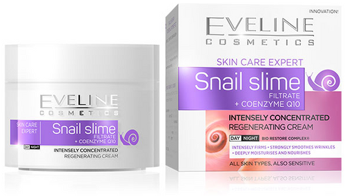 Eveline Snail Slime Filtrate + Coenzyme Q10 Day and Night Cream 50ml Buy online in Pakistan on Saloni.pk