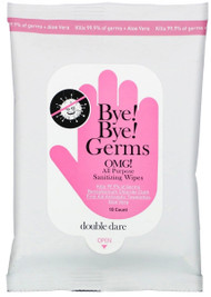 Double Dare Bye Bye Germs, OMG! All Purpose Sanitizing Wipes - 10 Wipes Buy online in Pakistan on LiveWell.pk