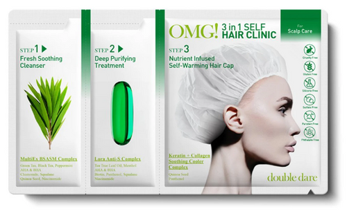 Double Dare OMG! 3 in 1 Self Hair Clinic For ( Scalp Care ) Buy online in Pakistan on LiveWell.pk