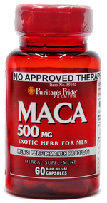 Puritan's Pride Maca 500mg - 60 Capsules Buy online in Pakistan on Saloni.pk