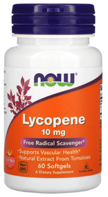 Now Foods Lycopene 10mg - 60 Softgels Buy online in Pakistan on Saloni.pk