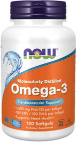 Now Foods Omega-3  - 100 Softgels Buy online in Pakistan on Saloni.pk